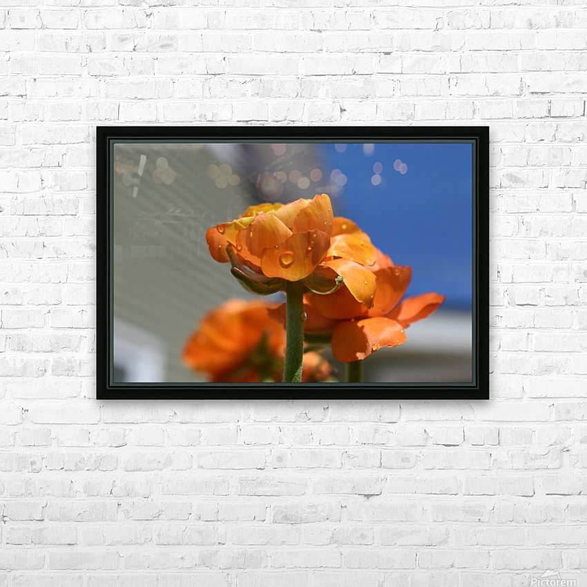 Spring in Bloom HD Sublimation Metal print with Decorating Float Frame (BOX)