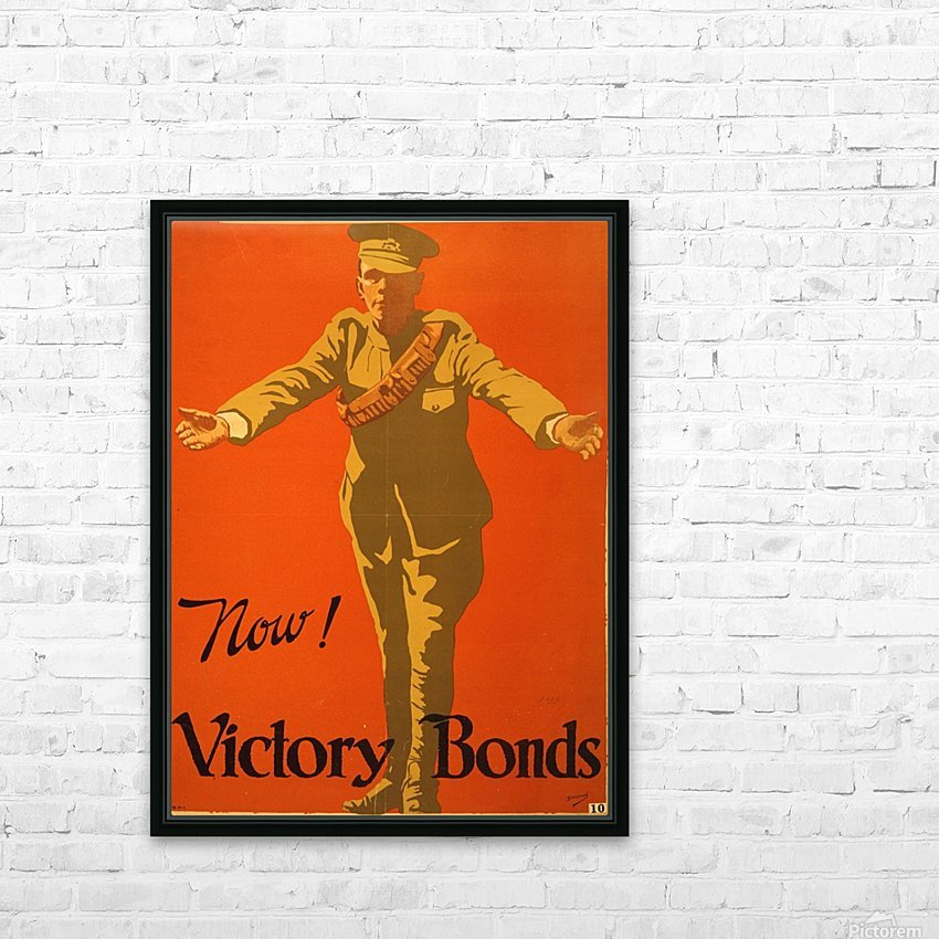 Buy Victory Bonds HD Sublimation Metal print with Decorating Float Frame (BOX)