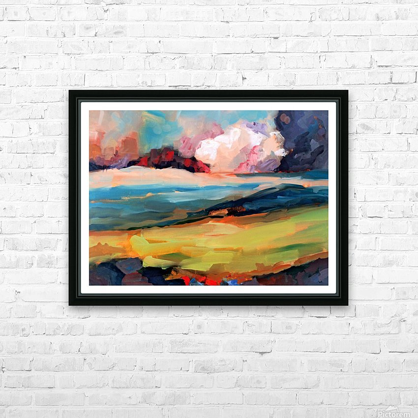 Dark Cloud HD Sublimation Metal print with Decorating Float Frame (BOX)