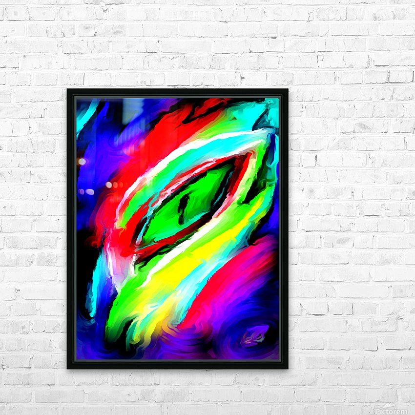 eyee HD Sublimation Metal print with Decorating Float Frame (BOX)