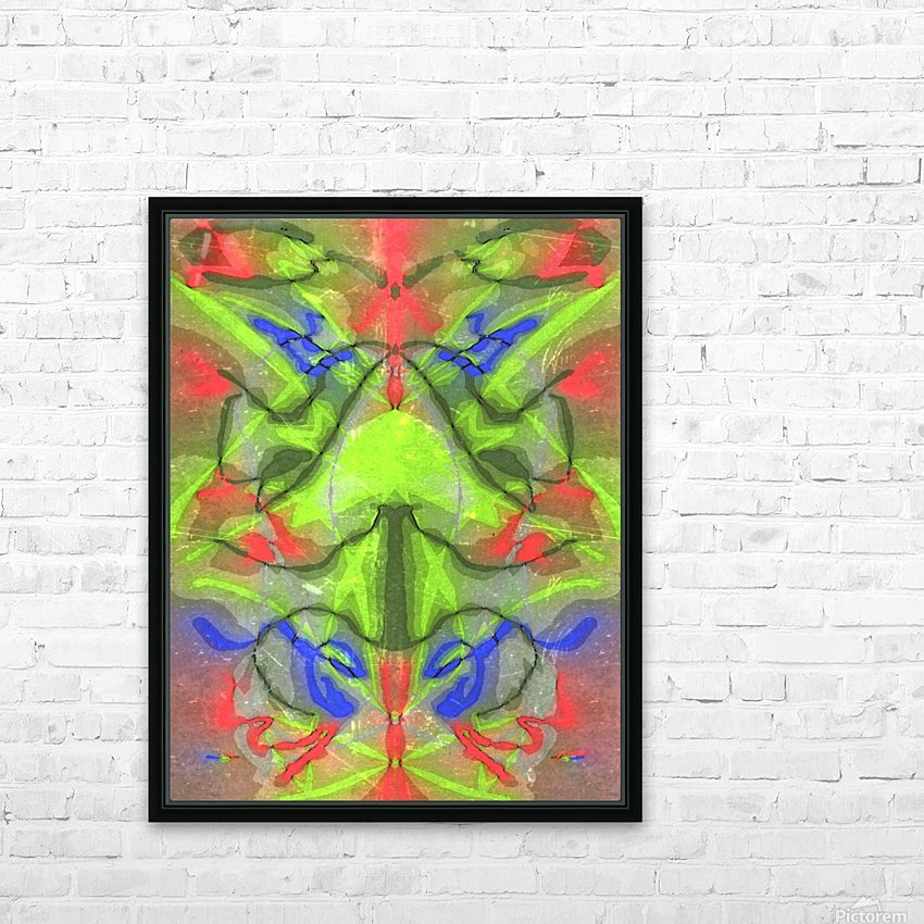 Graph HD Sublimation Metal print with Decorating Float Frame (BOX)