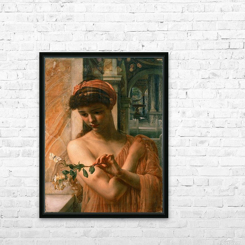 Psyche in the temple of love HD Sublimation Metal print with Decorating Float Frame (BOX)
