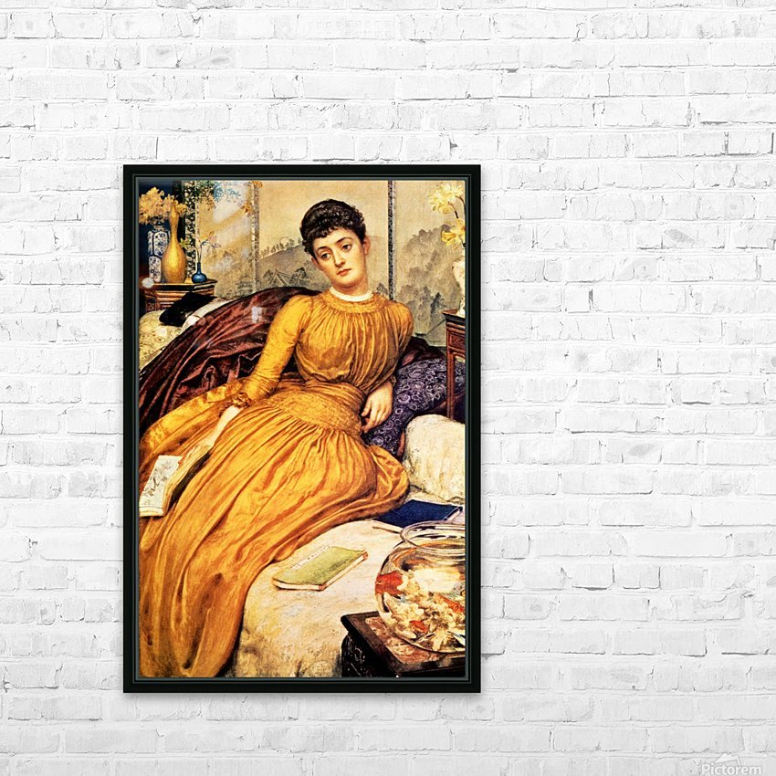 Mary Constance Wyndham HD Sublimation Metal print with Decorating Float Frame (BOX)