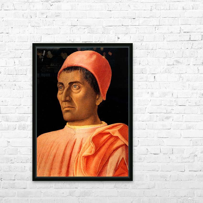 Portrait of Carlo de Medici HD Sublimation Metal print with Decorating Float Frame (BOX)