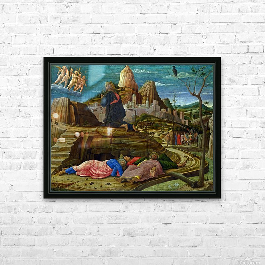 The Agony in the Garden HD Sublimation Metal print with Decorating Float Frame (BOX)