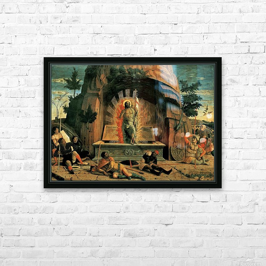 The Resurrection HD Sublimation Metal print with Decorating Float Frame (BOX)
