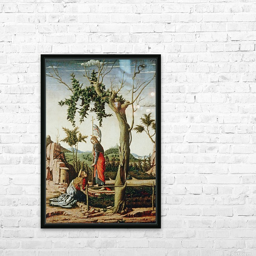 Noli me tangere HD Sublimation Metal print with Decorating Float Frame (BOX)