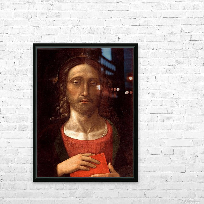 Christ HD Sublimation Metal print with Decorating Float Frame (BOX)