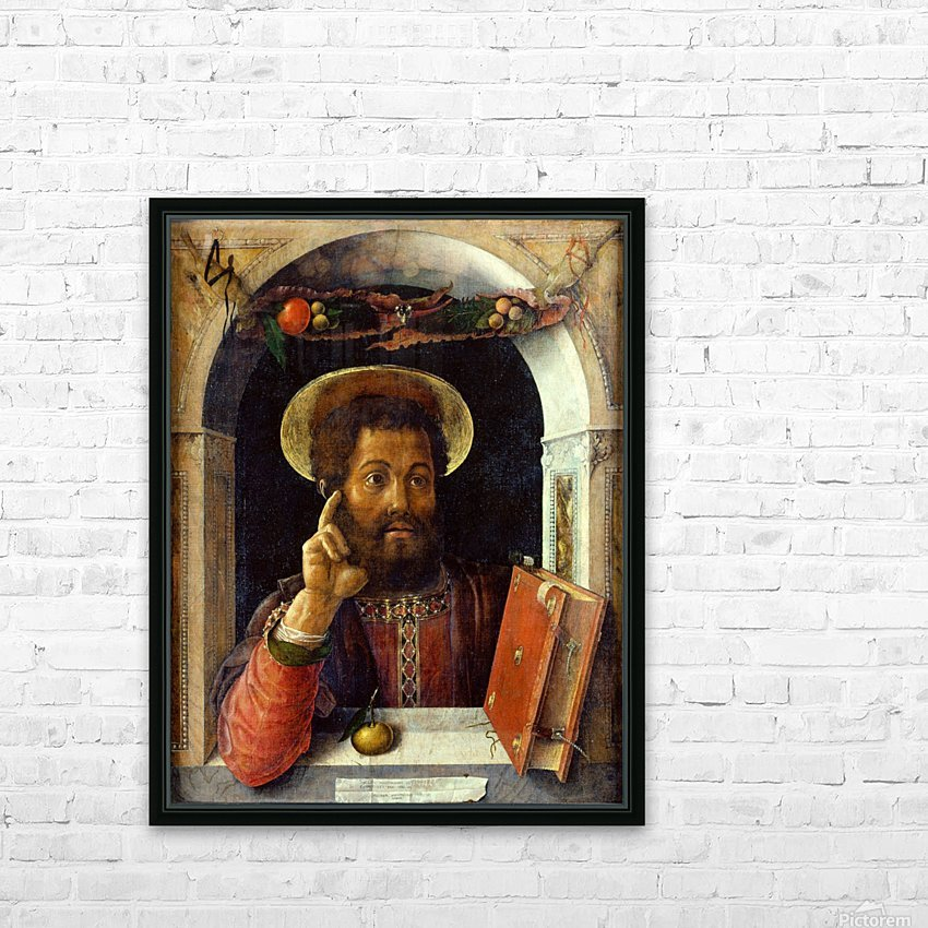 Saint Mark HD Sublimation Metal print with Decorating Float Frame (BOX)