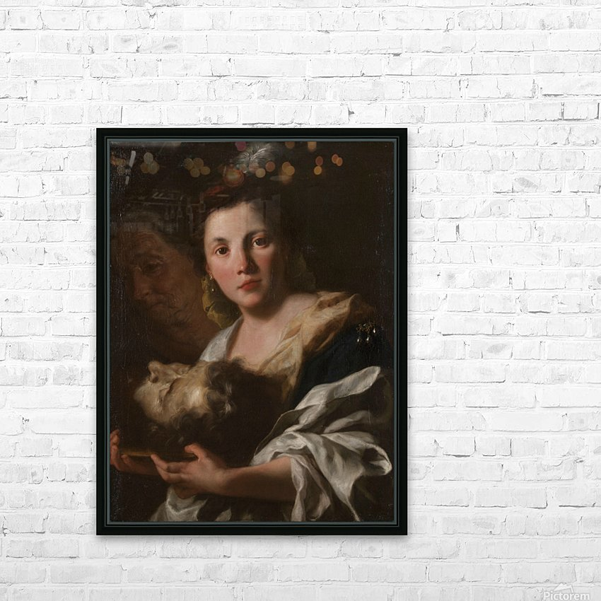 Judith with the head of Holofernes HD Sublimation Metal print with Decorating Float Frame (BOX)