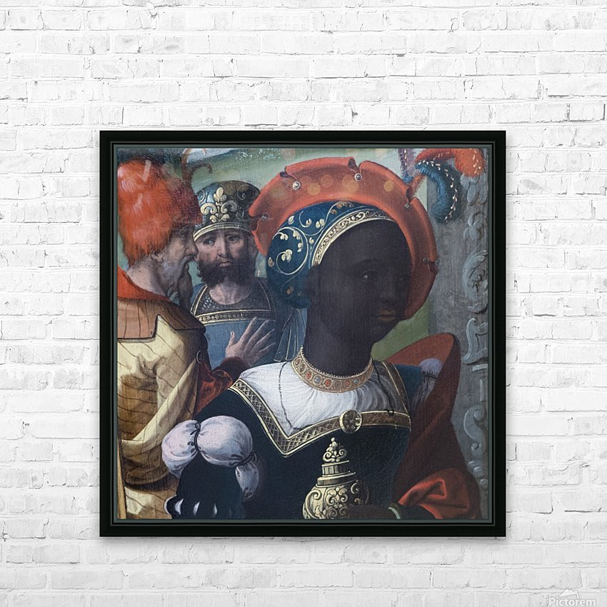 The Adoration of the Magi HD Sublimation Metal print with Decorating Float Frame (BOX)