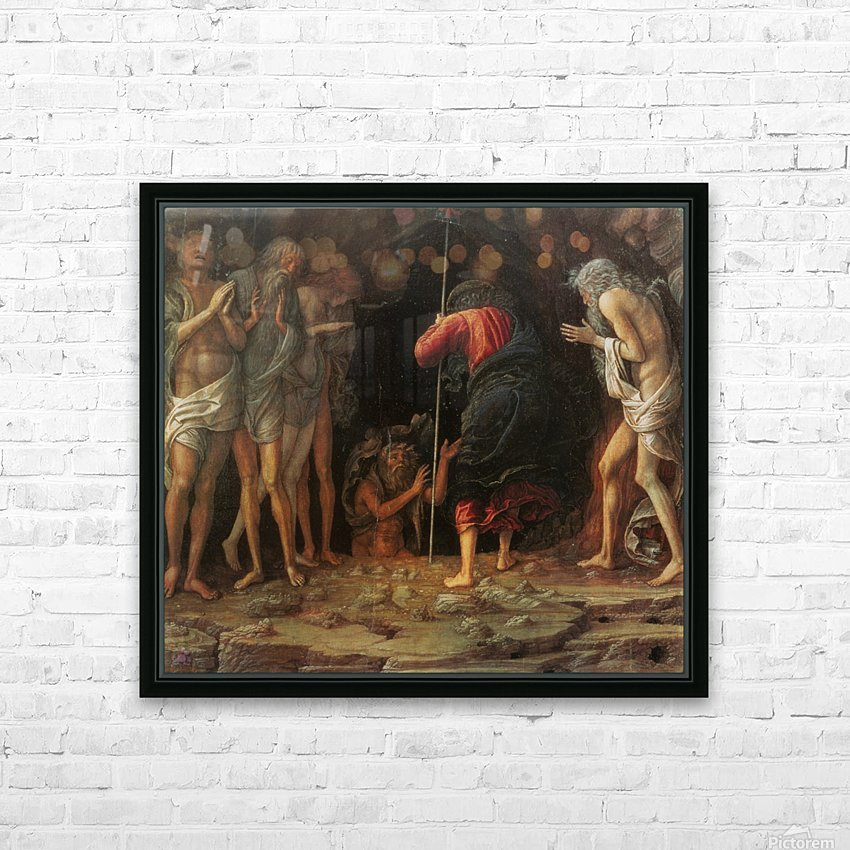 Descent into Limbo HD Sublimation Metal print with Decorating Float Frame (BOX)