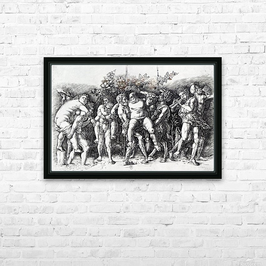 Bacchanal in Silene HD Sublimation Metal print with Decorating Float Frame (BOX)