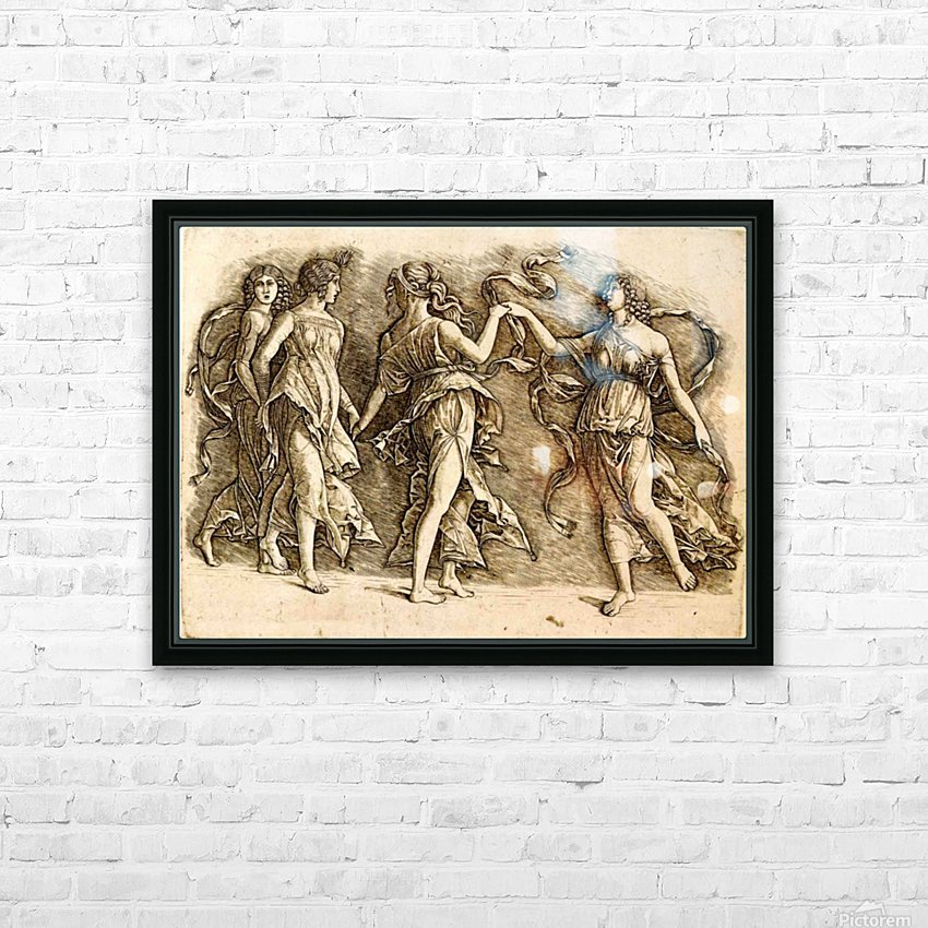 Four Muses HD Sublimation Metal print with Decorating Float Frame (BOX)