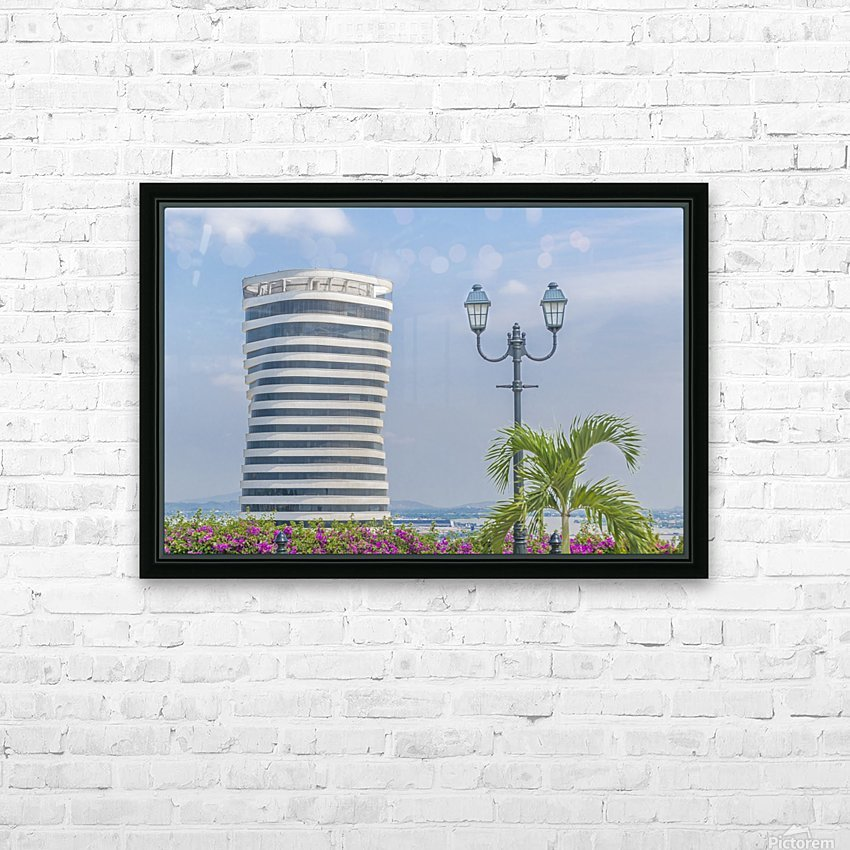 Aerial View of Guayaquil from Cerro Santa Ana13314601_2_1464877361.141 HD Sublimation Metal print with Decorating Float Frame (BOX)