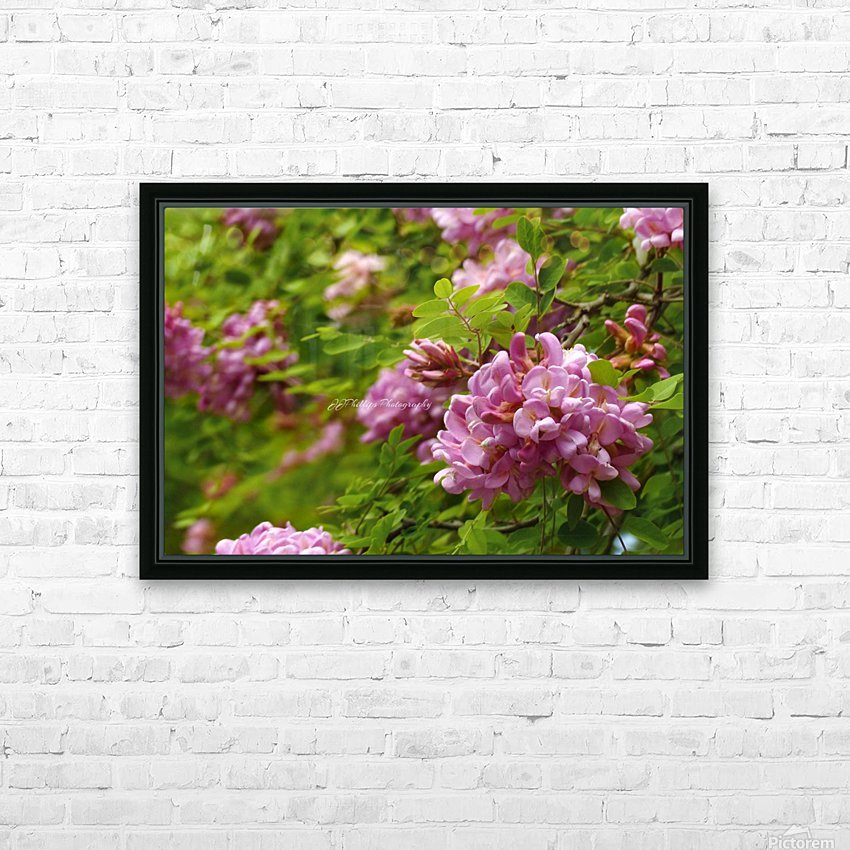 Rose Acacia Blossoms HD Sublimation Metal print with Decorating Float Frame (BOX)