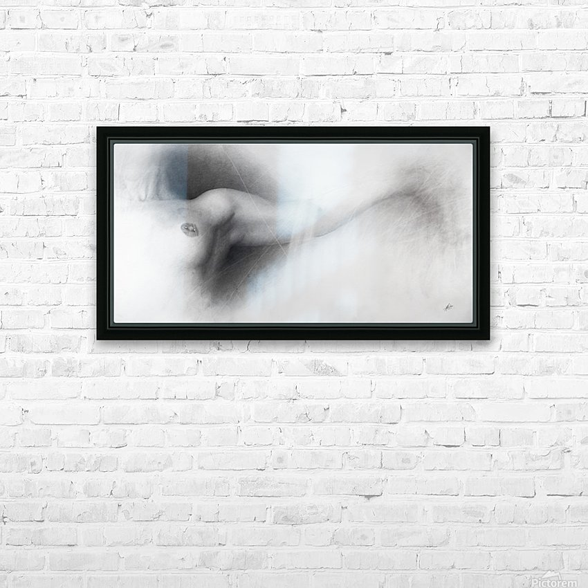 Nude Drawing HD Sublimation Metal print with Decorating Float Frame (BOX)