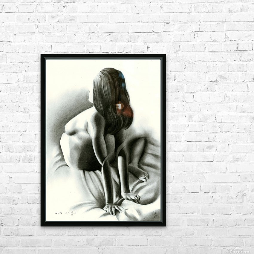Nude - 03-06-16 HD Sublimation Metal print with Decorating Float Frame (BOX)