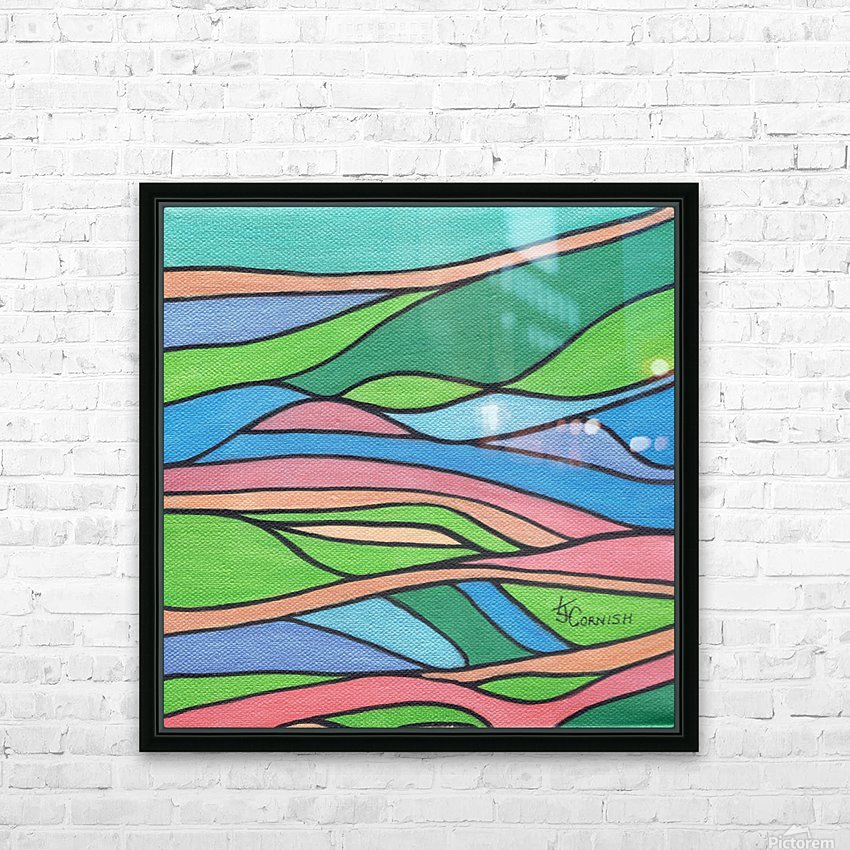 Chromaticity HD Sublimation Metal print with Decorating Float Frame (BOX)