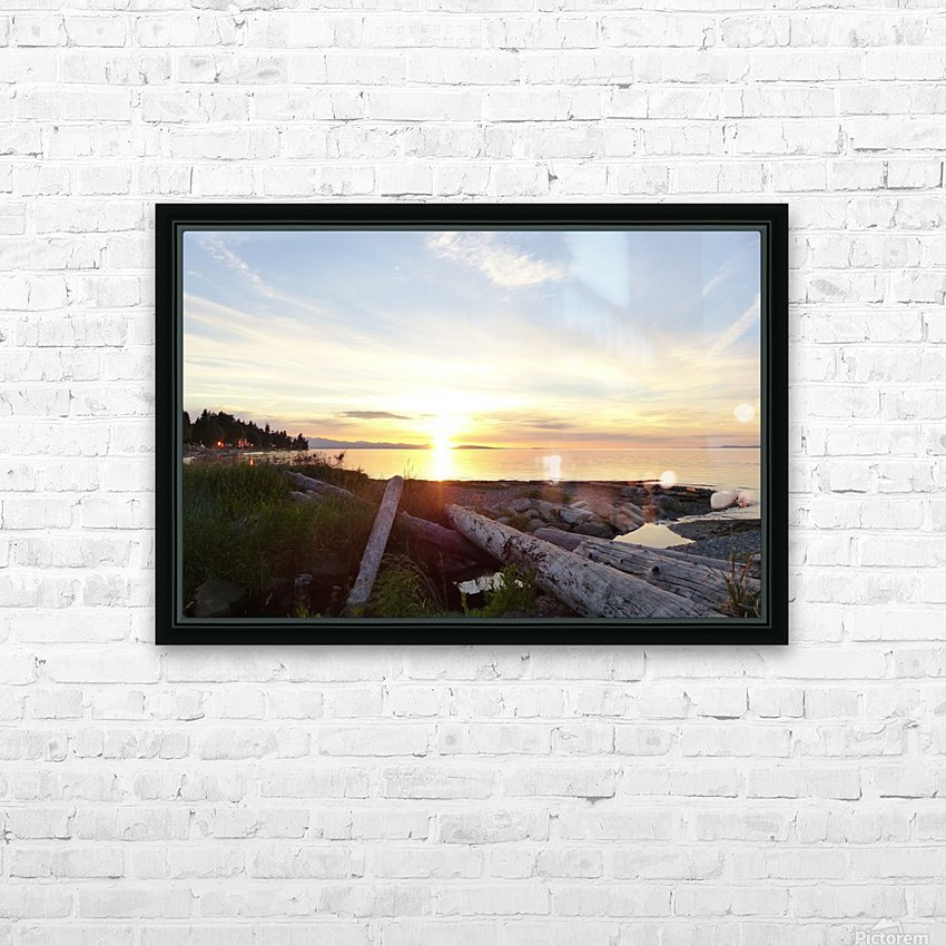 Nostalgia HD Sublimation Metal print with Decorating Float Frame (BOX)