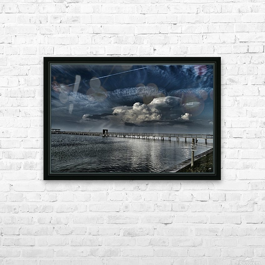 Private Property HD Sublimation Metal print with Decorating Float Frame (BOX)