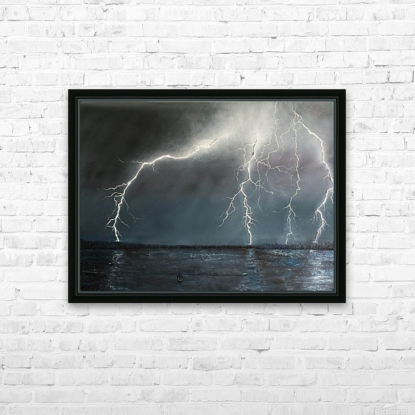Electric HD Sublimation Metal print with Decorating Float Frame (BOX)