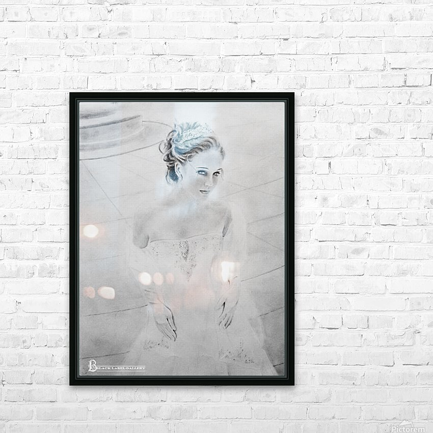 Bride BLG HD Sublimation Metal print with Decorating Float Frame (BOX)