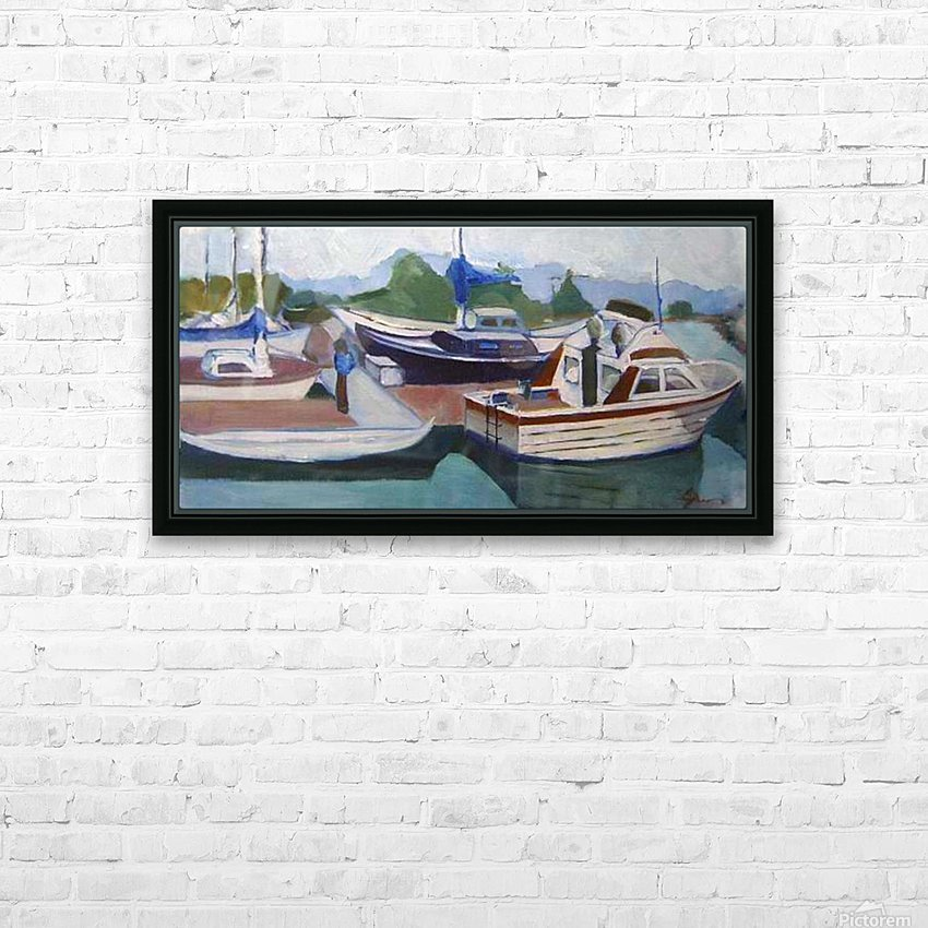 red.white.blue HD Sublimation Metal print with Decorating Float Frame (BOX)
