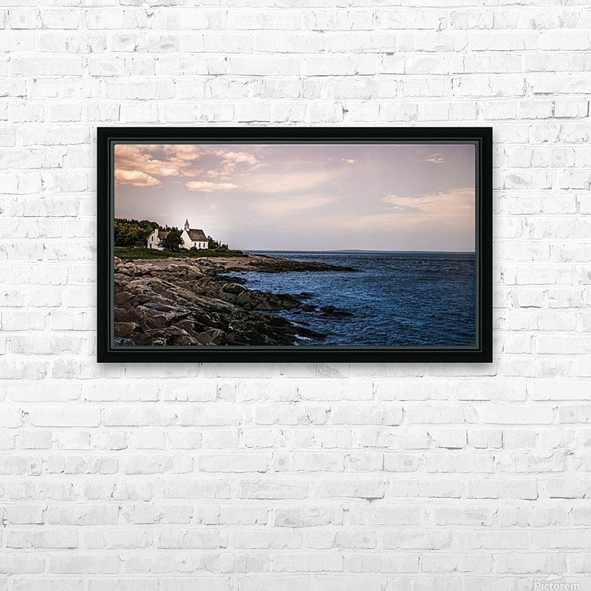 Charlevoix HD Sublimation Metal print with Decorating Float Frame (BOX)