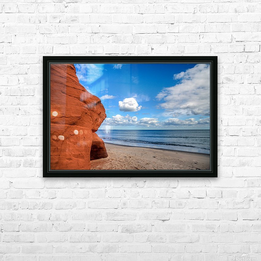 Magdalen Island HD Sublimation Metal print with Decorating Float Frame (BOX)