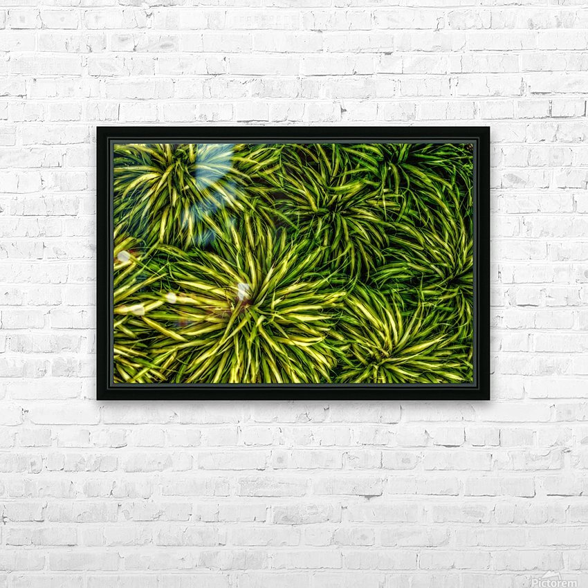Green Chaos HD Sublimation Metal print with Decorating Float Frame (BOX)