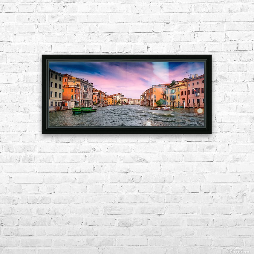 Venice HD Sublimation Metal print with Decorating Float Frame (BOX)