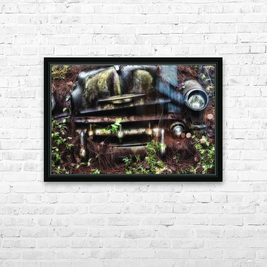 Old Car City  HD Sublimation Metal print with Decorating Float Frame (BOX)