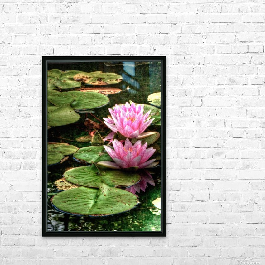 Rosewater HD Sublimation Metal print with Decorating Float Frame (BOX)