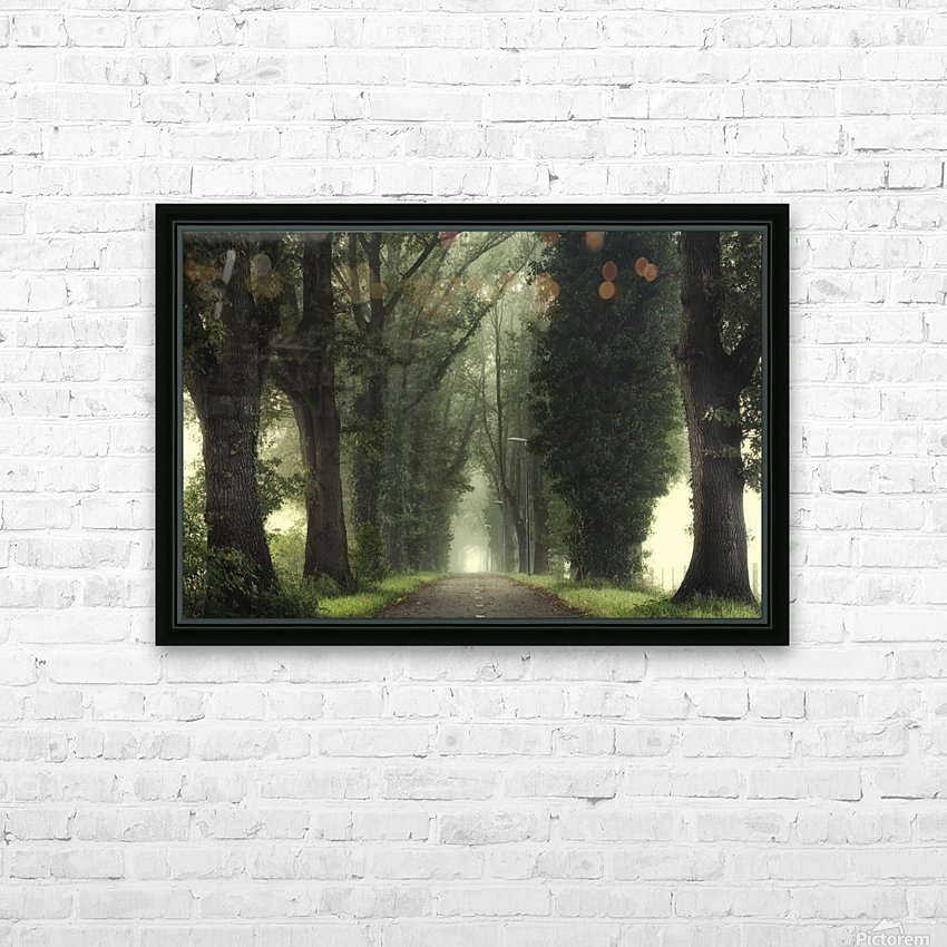Tunnel of inner calmness HD Sublimation Metal print with Decorating Float Frame (BOX)