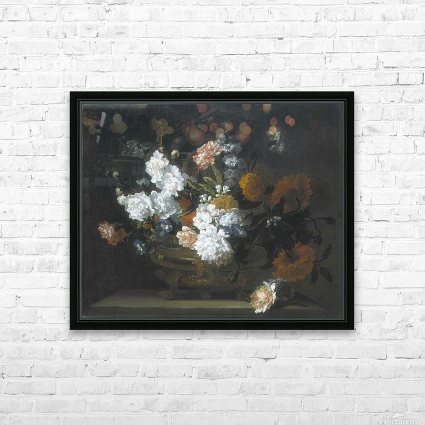 Peonies, Carnations, Poppies and other flowers HD Sublimation Metal print with Decorating Float Frame (BOX)
