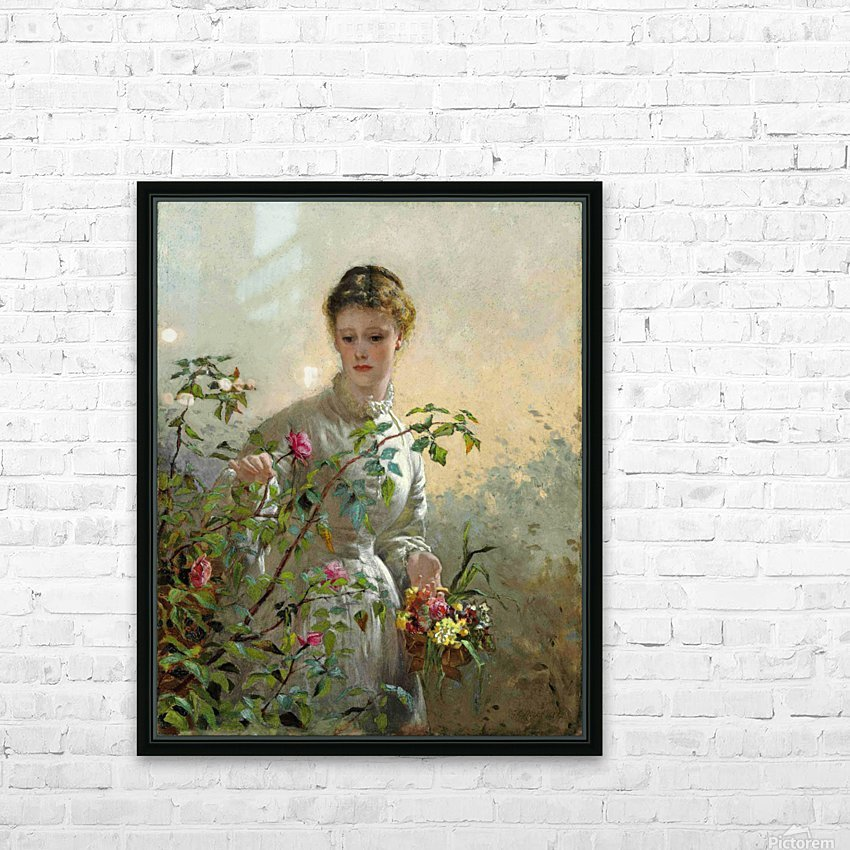 A Summer Bouquet HD Sublimation Metal print with Decorating Float Frame (BOX)