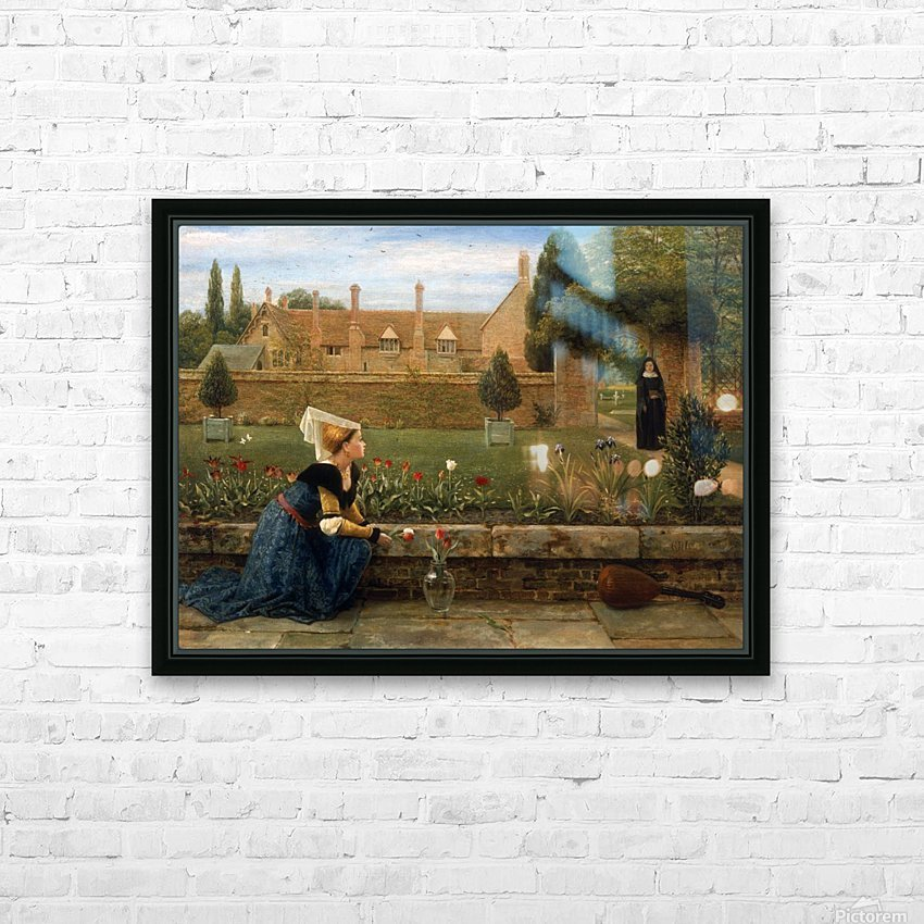 In the Convent Garden HD Sublimation Metal print with Decorating Float Frame (BOX)