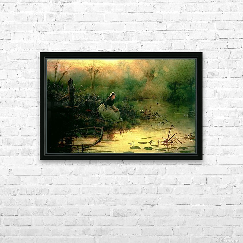 Willow from Hamlet HD Sublimation Metal print with Decorating Float Frame (BOX)