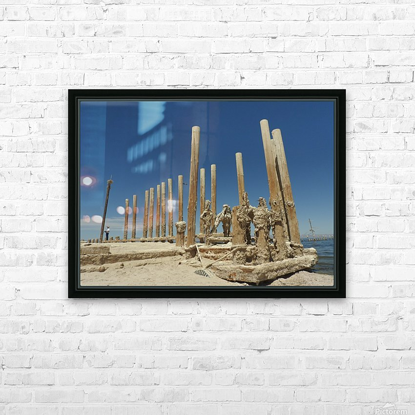 The Time Between HD Sublimation Metal print with Decorating Float Frame (BOX)