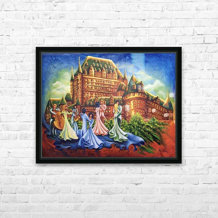 Jour de bal au Château HD Sublimation Metal print with Decorating Float Frame (BOX)