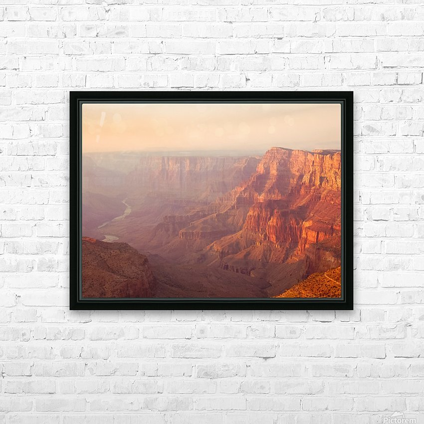 Red Canyon HD Sublimation Metal print with Decorating Float Frame (BOX)