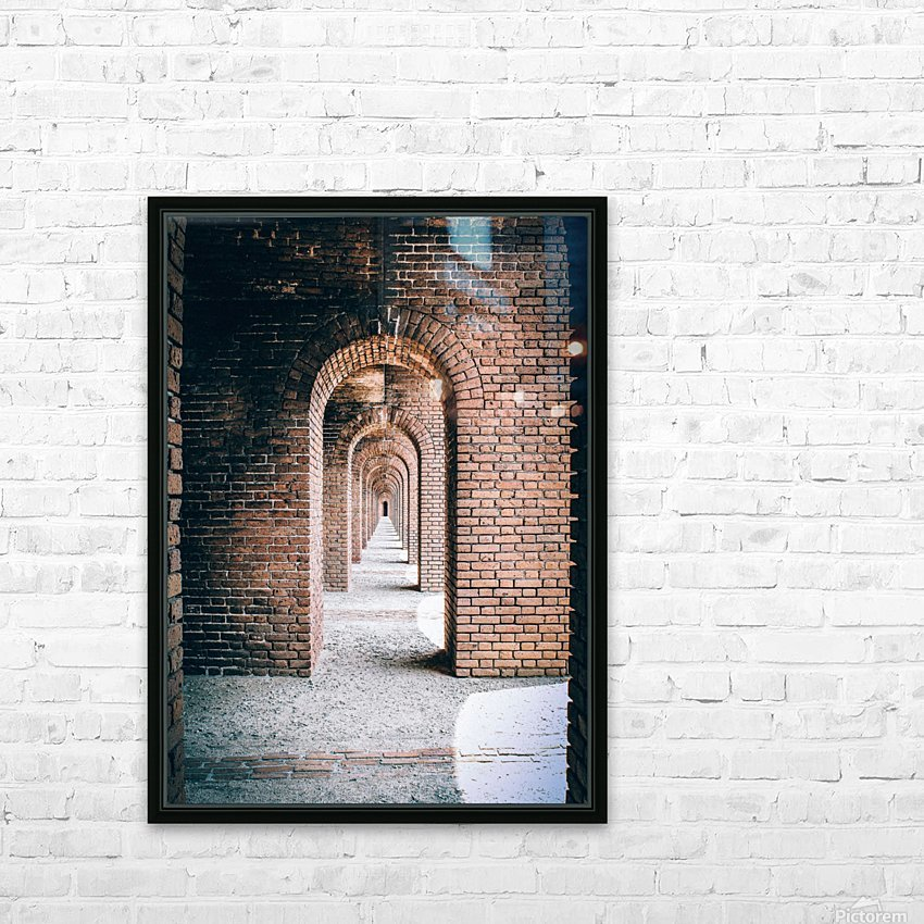 Infinite Arches-Tunnel HD Sublimation Metal print with Decorating Float Frame (BOX)