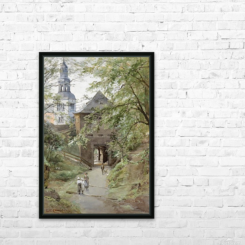 Mulln monastery in Salzburg HD Sublimation Metal print with Decorating Float Frame (BOX)