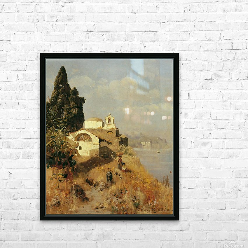 On Ischia in Casamicciola HD Sublimation Metal print with Decorating Float Frame (BOX)