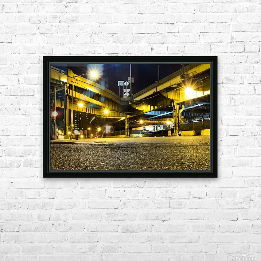 At The Apex HD Sublimation Metal print with Decorating Float Frame (BOX)