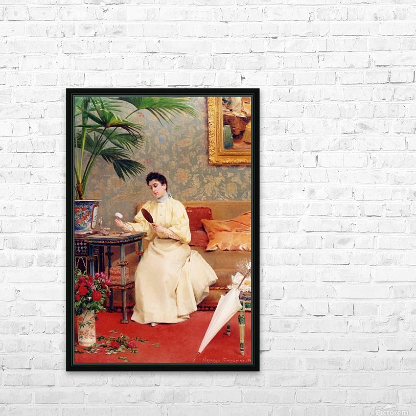 Toilette HD Sublimation Metal print with Decorating Float Frame (BOX)