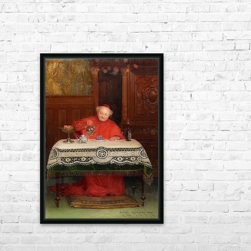 Der Kardinal HD Sublimation Metal print with Decorating Float Frame (BOX)