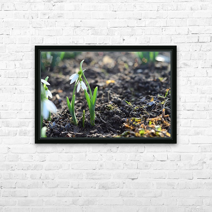 Happy parents HD Sublimation Metal print with Decorating Float Frame (BOX)