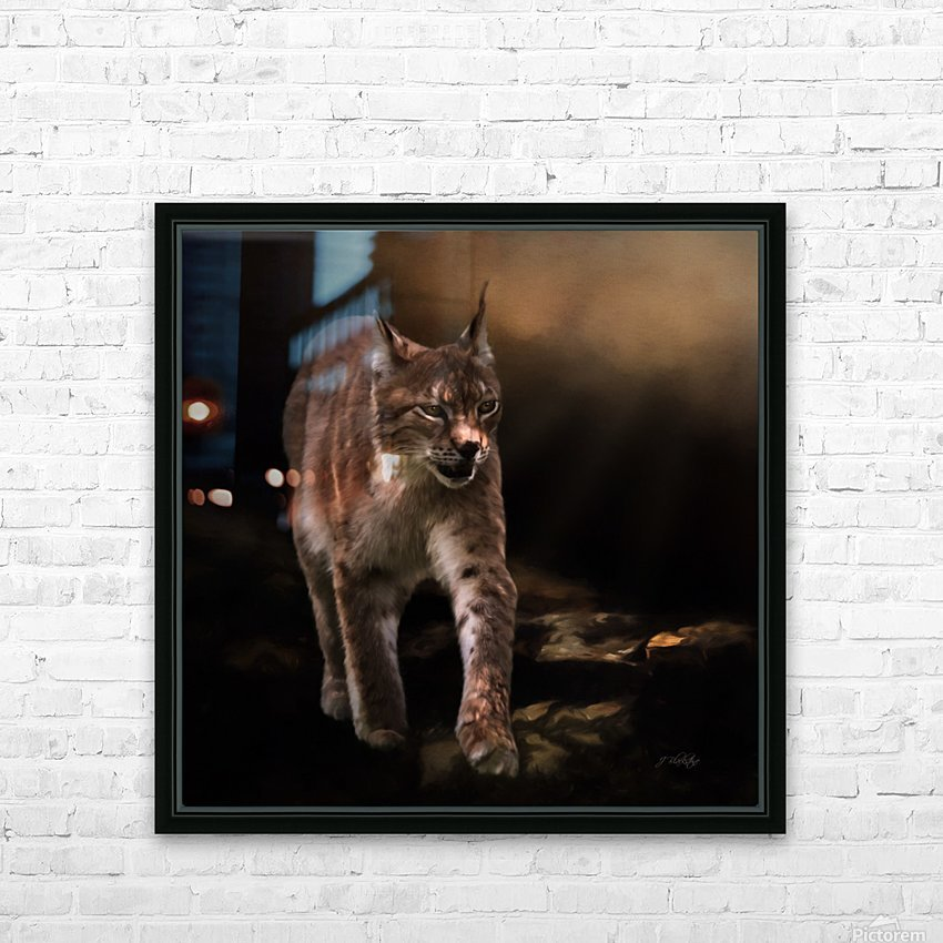 Into The Light by Jordan Blackstone HD Sublimation Metal print with Decorating Float Frame (BOX)